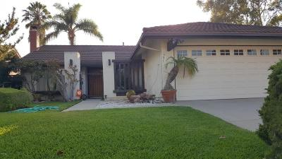 Camarillo Single Family Home Active Under Contract: 955 Hickory View Circle