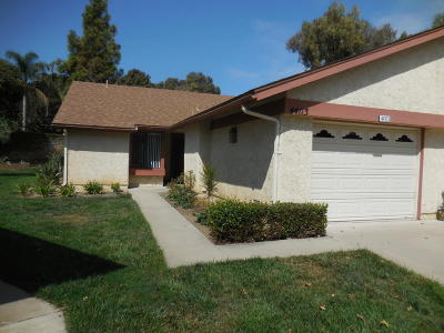Camarillo Single Family Home Active Under Contract: 44113 Village 44