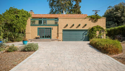 Ventura Single Family Home Active Under Contract: 199 Via Baja