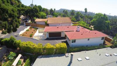 Santa Barbara Single Family Home For Sale: 2941 Glen Albyn Drive