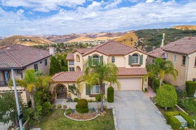Simi Valley Single Family Home For Sale: 5795 Indian Pointe Drive