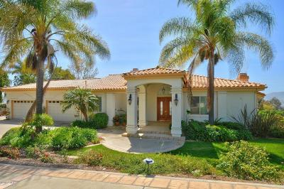 Camarillo Single Family Home Active Under Contract: 6090 Cielo Vista Court