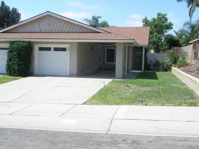 Camarillo Rental For Rent: 709 Hillcrest Drive