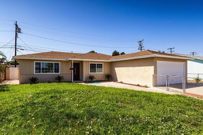 Oxnard Single Family Home For Sale: 2635 S Street