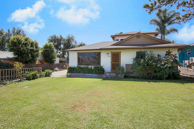 Somis Single Family Home For Sale: 5120 North Street