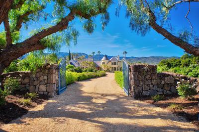 Ojai Single Family Home For Sale: 3900 Grand Avenue
