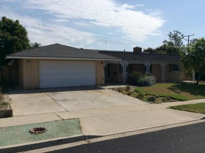 Ventura CA Single Family Home Active Under Contract: $529,000