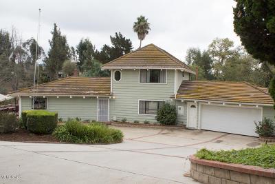 Somis Single Family Home For Sale: 5688 La Cumbre Road