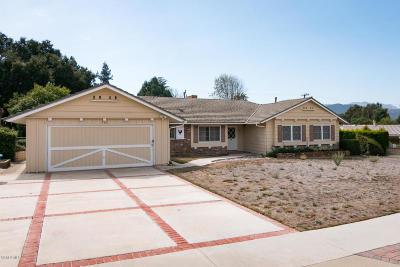 Thousand Oaks Single Family Home For Sale: 764 Camino Manzanas