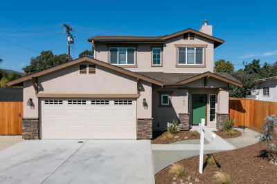 Ventura Single Family Home For Sale: 163 James Drive