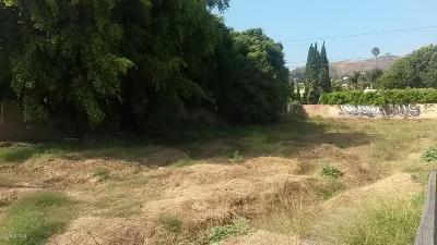 Ventura County Residential Lots & Land For Sale: 1633 E Thompson Boulevard