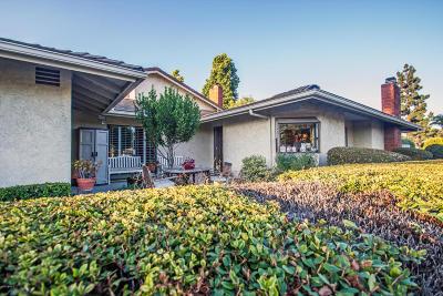 Ventura Single Family Home For Sale: 838 Tennyson Lane