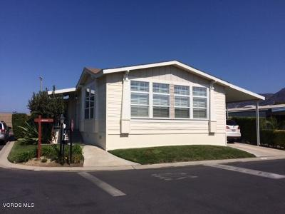Santa Paula Mobile Home For Sale: 500 W Santa Maria Street #8