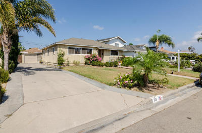 Oxnard Single Family Home For Sale: 313 Vanderbilt Drive