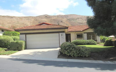 Camarillo Single Family Home Active Under Contract: 1134 Paquita Street