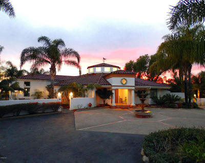 Santa Barbara Single Family Home For Sale: 1200 San Marcos Road