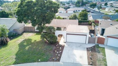 Camarillo Single Family Home Active Under Contract: 889 Calle La Sombra