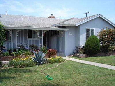 Oxnard Single Family Home Active Under Contract: 1135 Douglas Avenue