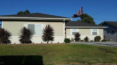 Ventura Single Family Home For Sale: 1448 Bluebird Avenue