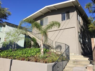 Santa Barbara Multi Family Home For Sale: 823 E De La Guerra Street