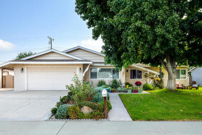 Camarillo Single Family Home Active Under Contract: 2152 Benito Drive