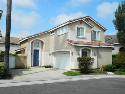 Oxnard Single Family Home For Sale: 1017 Corte Primavera