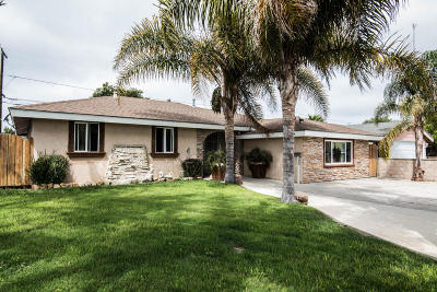 Oxnard Single Family Home For Sale: 945 Rialto Street