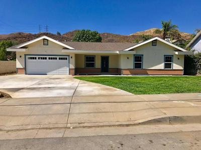 Santa Paula Single Family Home Active Under Contract: 1694 Ojai Road