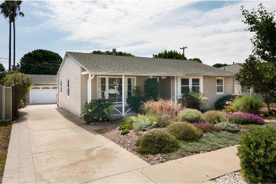 Ventura Single Family Home Active Under Contract: 2730 Vancouver Avenue