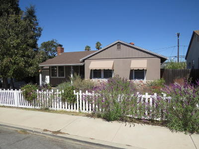 Camarillo Single Family Home Active Under Contract: 1869 Chapel Drive