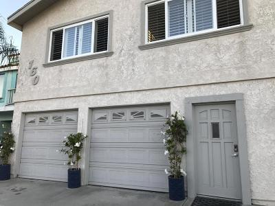 Oxnard Single Family Home For Sale: 160 Highland Drive