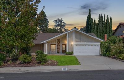 Newbury Park Single Family Home For Sale: 965 Newbury Road