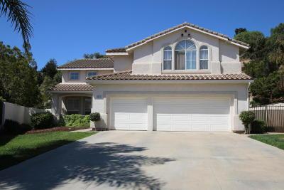 Camarillo Single Family Home For Sale: 2011 Alborada Drive