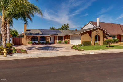 Camarillo Single Family Home Active Under Contract: 1151 Red Oak Place