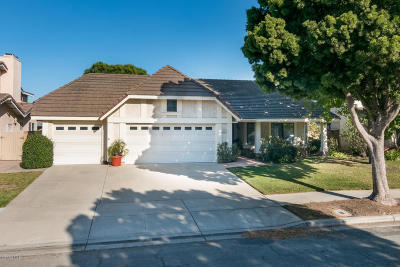 Oxnard Single Family Home Active Under Contract: 2017 Spyglass Trail E
