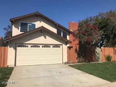 Oxnard Single Family Home Active Under Contract: 1301 Los Prietos Court
