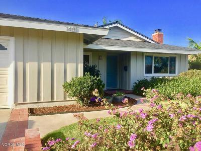 Oxnard Single Family Home For Sale: 1401 Kingswood Way