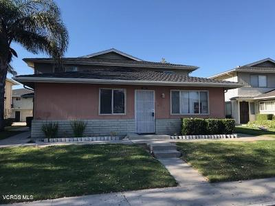 Port Hueneme Single Family Home For Sale: 661 Halyard Street