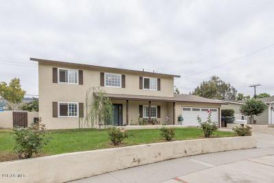 Camarillo Single Family Home For Sale: 3811 Senan Street