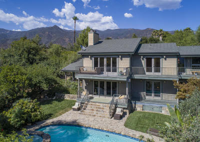 Ojai Single Family Home For Sale: 4440 Grand Avenue