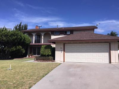 Ventura Single Family Home For Sale: 704 Elko Avenue