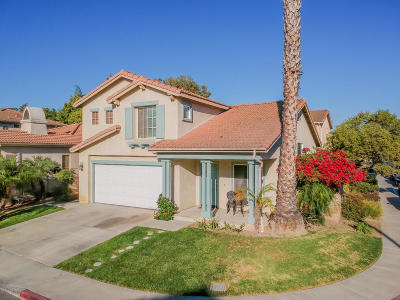 Camarillo Single Family Home Active Under Contract: 506 Avenida Magdalena