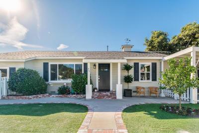 Camarillo Single Family Home Active Under Contract: 25 Neish Street