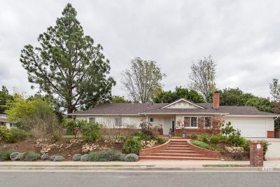 Thousand Oaks Single Family Home For Sale: 3296 Lanier Place