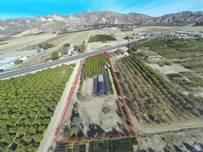Ventura County Residential Lots & Land For Sale: 3836 Howe Road