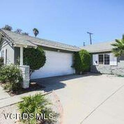 Ventura Single Family Home Active Under Contract: 8557 Fairford Street
