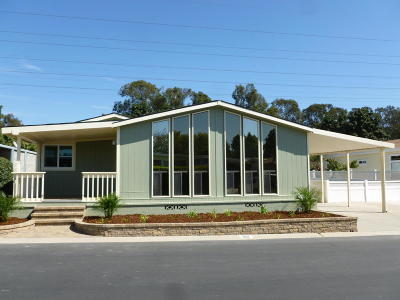 Ventura Mobile Home Active Under Contract: 192 Browning Avenue