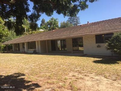 Camarillo Rental For Rent: 814 Valley Vista Drive