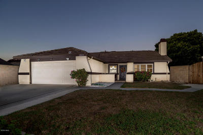 Oxnard Single Family Home For Sale: 1064 Stern Court