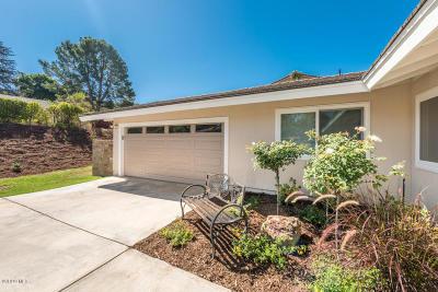 Camarillo Single Family Home For Sale: 1081 Valley Vista Drive